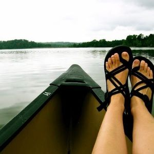 Black Chaco Zong Sandals